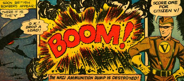 Un centre de munitions détruit grâce à Citizen V