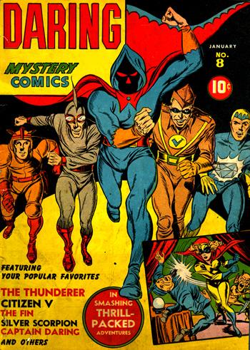 Daring Mystery Comics #8 (Jan. 1942)