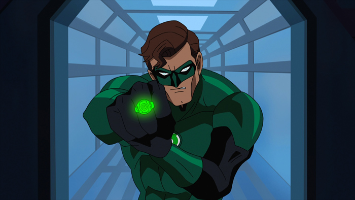 It's Hal Jordan to the rescue in Green Lantern: First Flight, the all-new DC Universe animated original movie set for distribution July 28, 2009 by Warner Home Video.