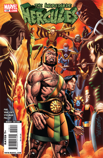 Review Incredible Hercules #129