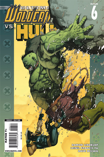 Ultimate Wolverine vs Hulk #6