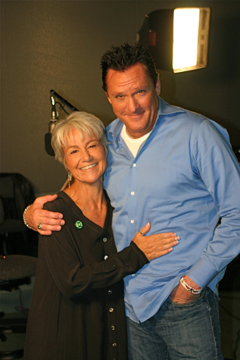Andre Aromano and Michael Madsen
