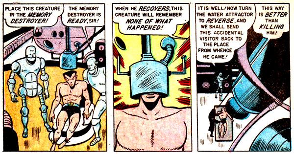 La mémoire dans la peau ? Ou plutôt la première amnésie programmée de Namor...