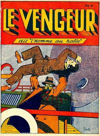 """... Mais le Sandman était aussi traduit par... """"le Vengeur"""" !"""