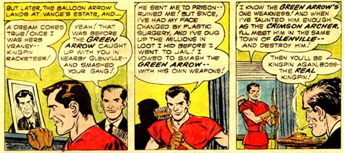 Les vraies motivations du Crimson Archer...