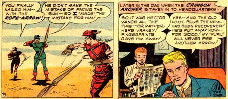 L'adversaire battu, Oliver et Roy retournent à leur vie quotidienne...
