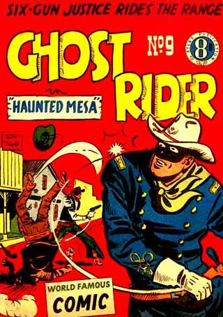 Le Ghost Rider australien, dont les aventures se déroulaient aussi aux USA...