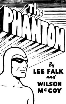 "Le Phantom, alias ""L'Ombre qui marche..."""