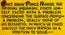 "Le mot ""Aquaman"" dans un comic-book de Marvel"