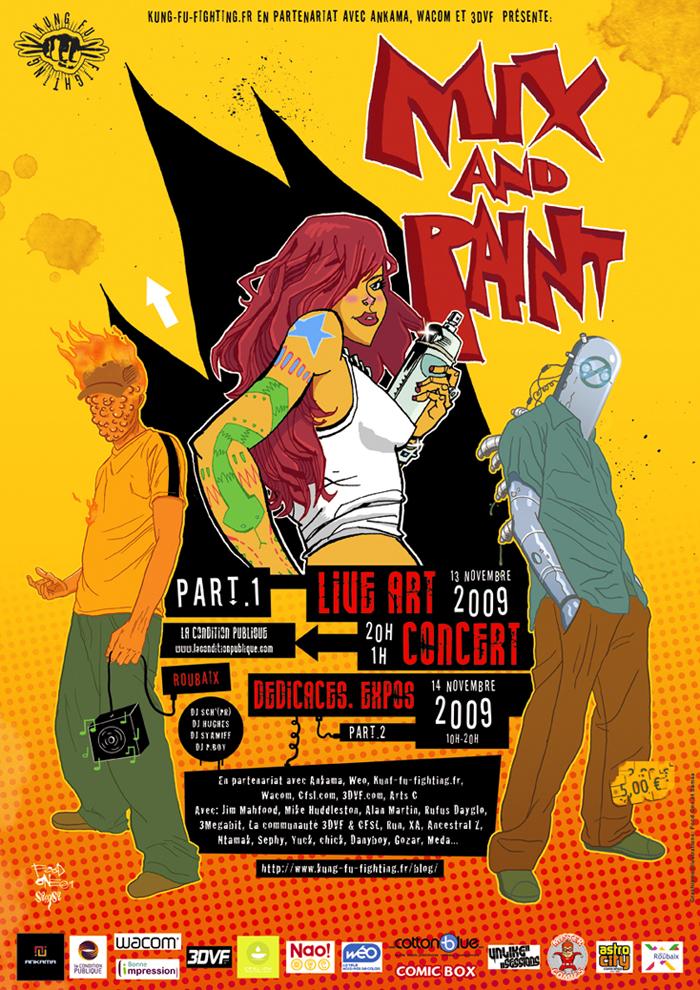 Mix And Paint à Roubaix !
