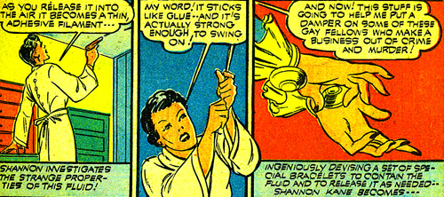 Les lanceurs de toile... 21 ans avant ceux de Peter Parker !