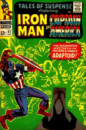L'Agent Axis refait surface sur la couverture de Tales Of Suspense (juste au dessus du bouclier de Captain America)