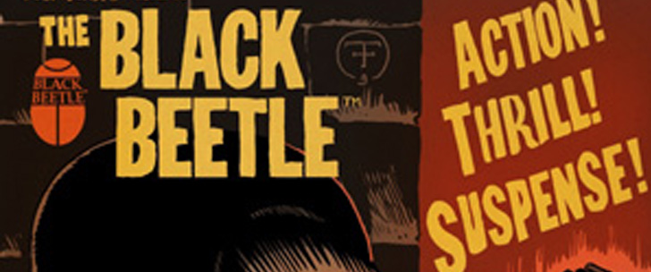 Francesco Francavilla's The Black Beetle @ Dark Horse Comics