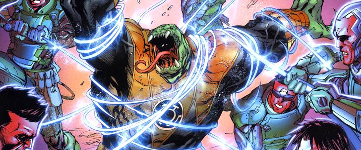 Avant-Première VO: Review Green Lantern: New Guardians #8