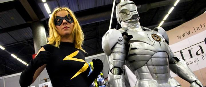Comic Con' Paris 2012 Jour 1