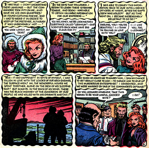 Le mariage des parents de Namor...