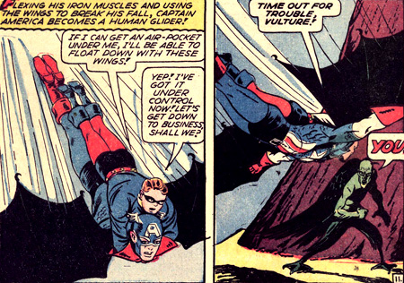 Captain America vole !