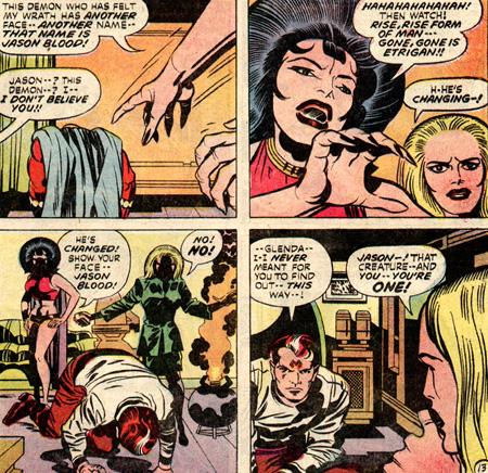 Glenda découvre le secret de Jason...