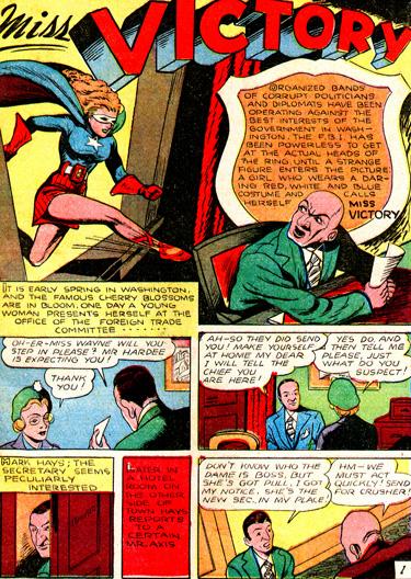 Captain Fearless #1 (Août 1941)