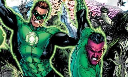 Avant-Première VO: Review Green Lantern #18
