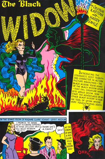 La Black Widow du Golden Age