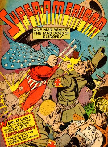 Super-American dans Fight Comics #15...