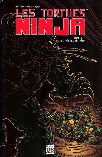 Trade Paper Box #90: Les tortues ninja T4 � les p�ch�s du p�re