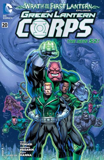 Green Lantern Corps #20