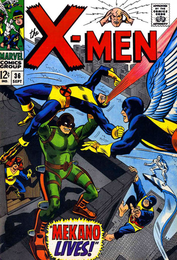 Oldies But Goodies: X-Men #36 (Sept. 1967)