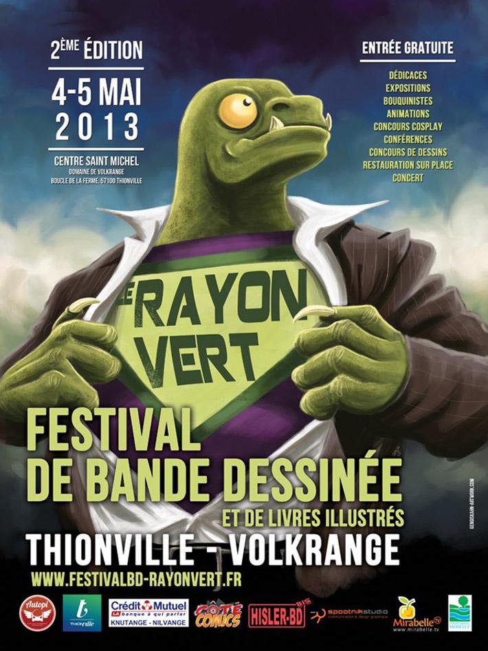 Le Rayon Vert 2013 à Thionville/Volkrange