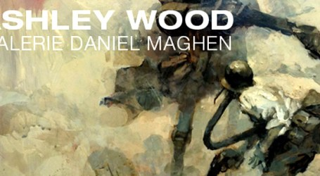 Ashley Wood @ La galerie Daniel Maghen