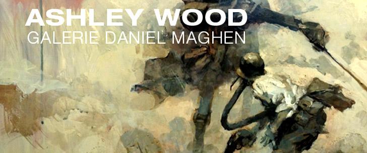 Ashley Wood @ La galerie Daniel Maghen