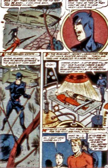 Le QG secret de Catman...
