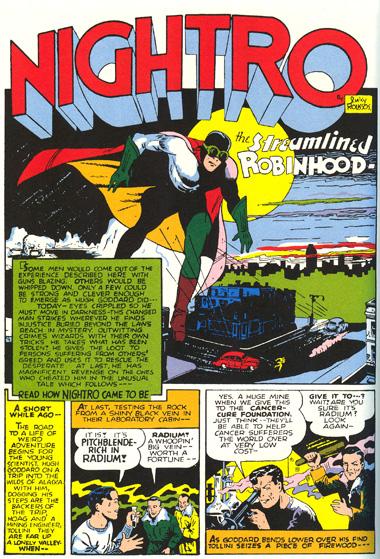 Nightro, le Robin des Bois moderne !