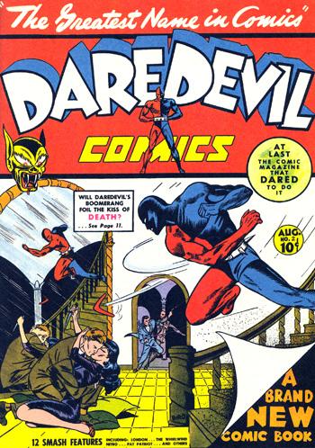 Daredevil Comics #2 (Août 1941)