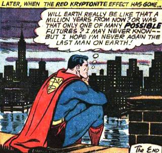 Enfin, Superman est rentré chez lui...