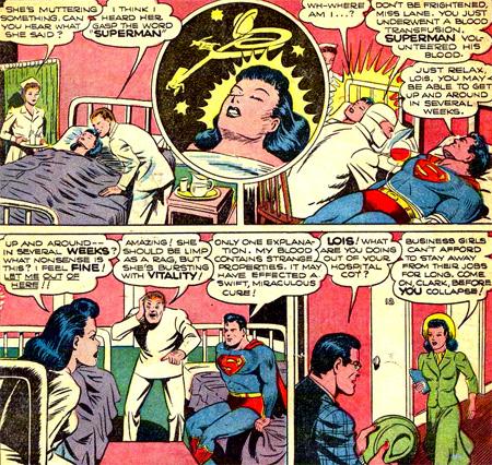 Un étrange réveil pour Lois