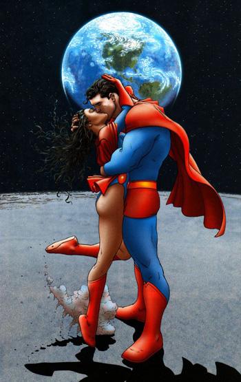 Lois Lane en mode Superwoman dans All-Star Superman