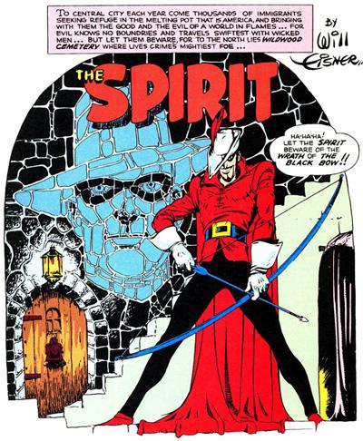 Oldies But Goodies: The Spirit (5 Janvier 1941)