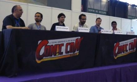 Conférence Fanfilms au Comic' Con Paris 2013