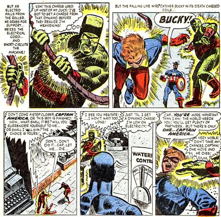Bucky mal en point...
