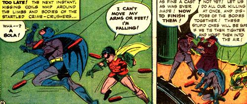 Batman et Robin sont neutralisés...