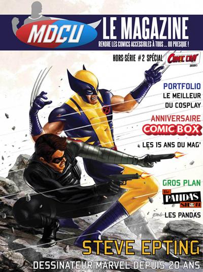 Comic Box dans MDCU Le Magazine