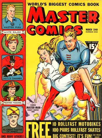 Master Comics #1 (Mars 1940)