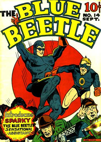 Blue Beetle #14, le faux départ...