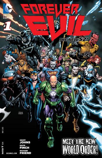 Avant-Première VO: Review Forever Evil #1