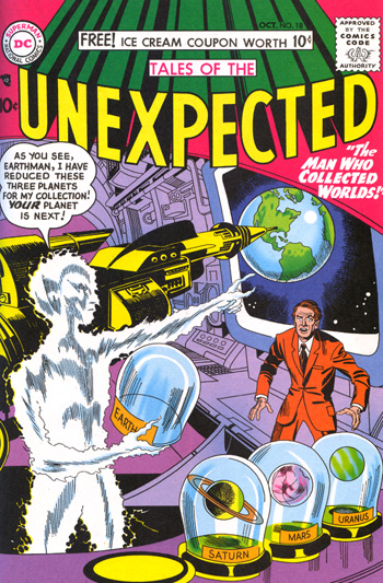 Tales of the Unexpected #18 (Oct. 1957)