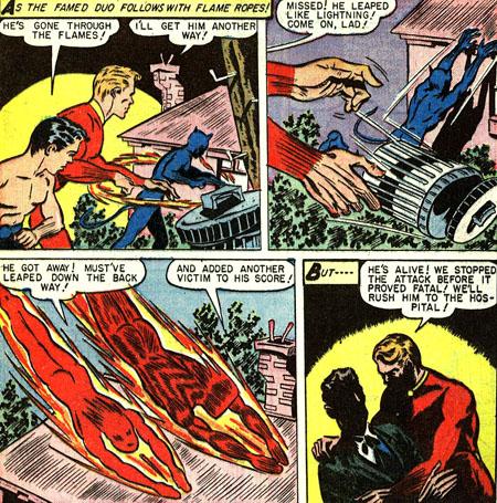 Cette fois Catman n'a pas tué sa victime...