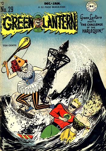 Harlequin a vraiment marqué la fin du Golden Age pour Green Lantern