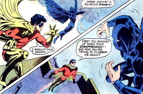 Robin contre Raven version 1978